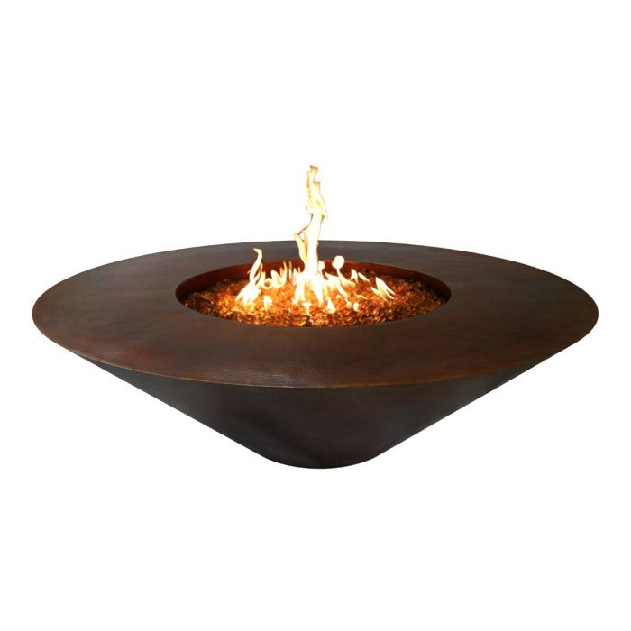 TOP Fires by The Outdoor Plus OPT-RS48x Cazo Copper Fire Pit