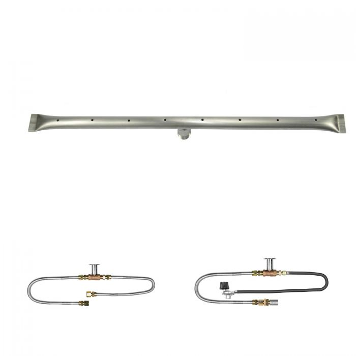 The Outdoor Plus OPT-RTxx Linear Match Light Gas Fire Pit Burner Kit