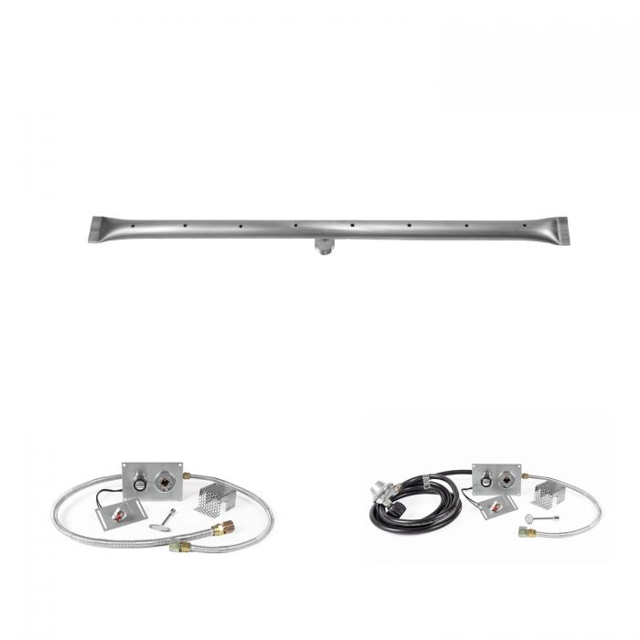 The Outdoor Plus OPT-RTxx-SPARK Linear Spark Ignition Gas Fire Pit Burner Kit