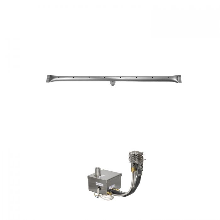 The Outdoor Plus OPT-RTxxEKIT Linear Electronic Ignition Gas Fire Pit Burner Kit