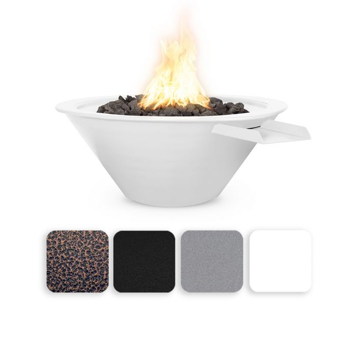 TOP Fires by The Outdoor Plus OPT-RxxPCFW Cazo Powder Coat Fire and Water Bowl