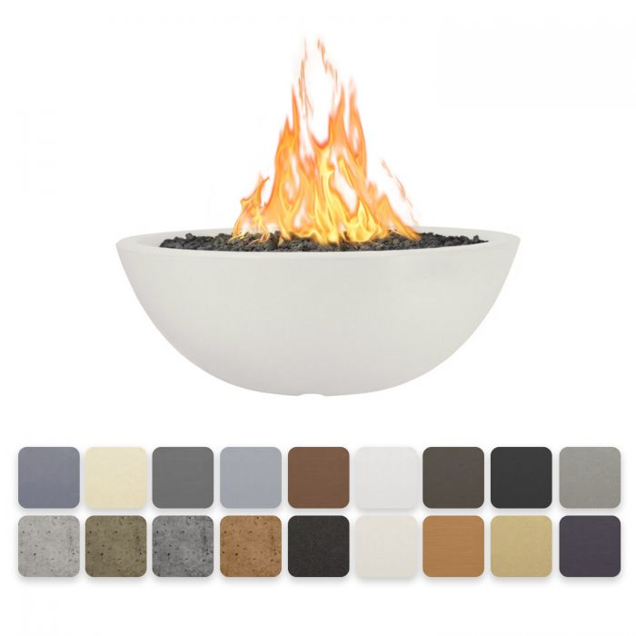 TOP Fires by The Outdoor Plus OPT-SEDxx Sedona Concrete Fire Pit