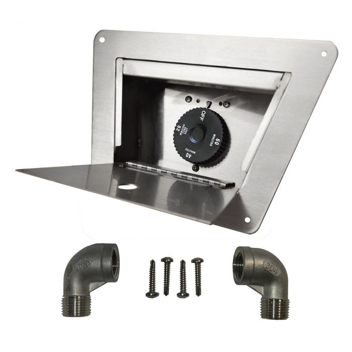 The Outdoor Plus OPT-TBL 1-Hour Gas Timer and Lock Box