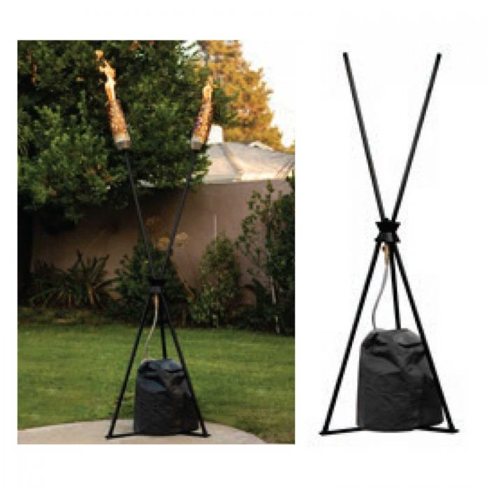 The Outdoor Plus OPT-TTSTD Fire Torch Stand