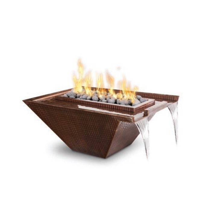 TOP Fires by The Outdoor Plus OPT-xxNLCPF Nile Copper Fire and Water Bowl
