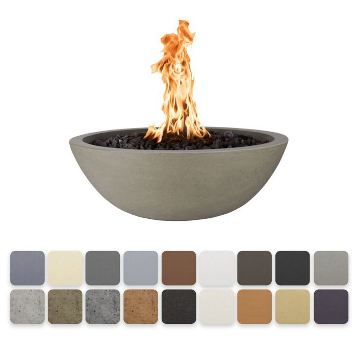 TOP Fires by The Outdoor Plus OPT-xxRFO Sedona Concrete Gas Fire Bowl