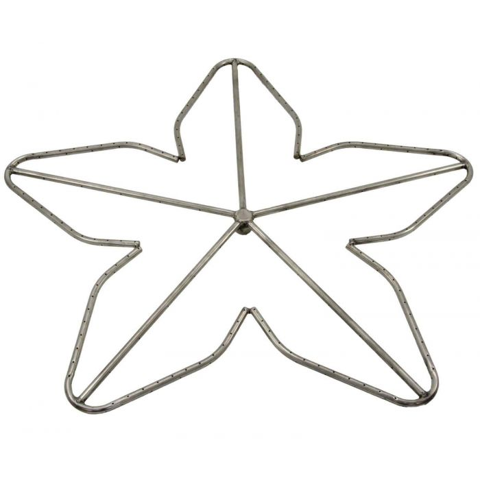 Hearth Products Controls Penta Stainless Steel Fire Pit Burner, 48-Inch, Natural Gas