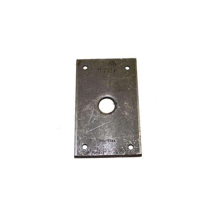 Hearth Products Controls Pro-Flex 1/2 Inch Termination Plates, Pack of 12