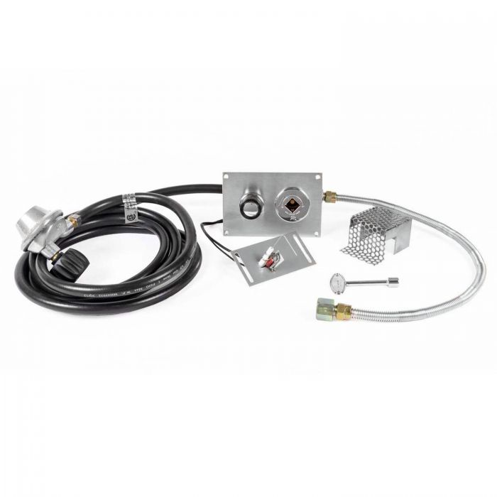 The Outdoor Plus OPT-2322LPHC High Capacity Push-Button Spark Ignition Kit for Propane