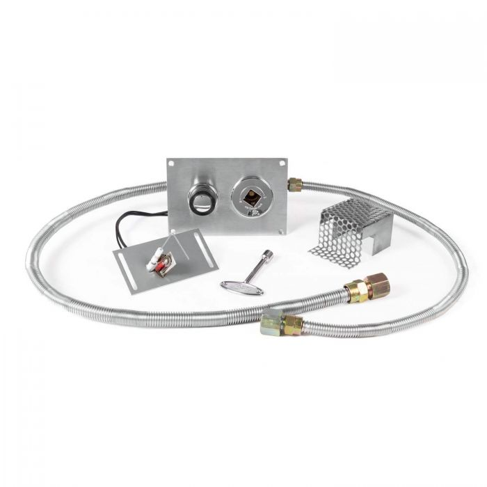 The Outdoor Plus OPT-2322NG Push-Button Spark Ignition Kit for Natural Gas