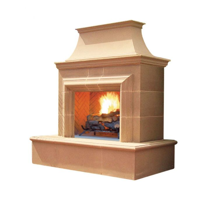American Fyre Designs Reduced Cordova Outdoor Gas Fireplace