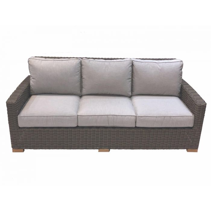 Royal Teak Collection SBS3 Sanibel Teak Sofa