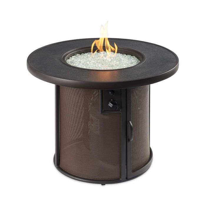 The Outdoor GreatRoom Company SF-32-K Stonefire Gas Fire Table, 32x32-Inches