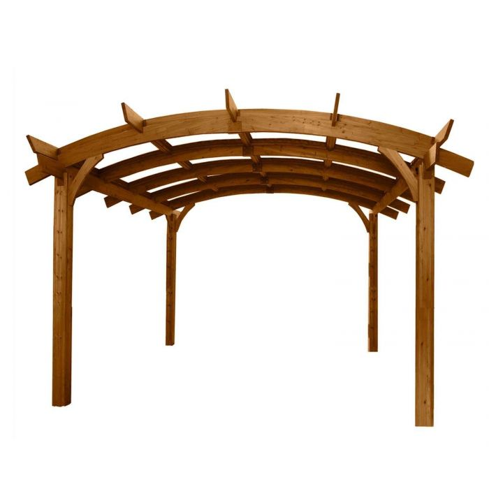 The Outdoor GreatRoom Company SONOMA12 Sonoma Pergola, 12x12-Feet