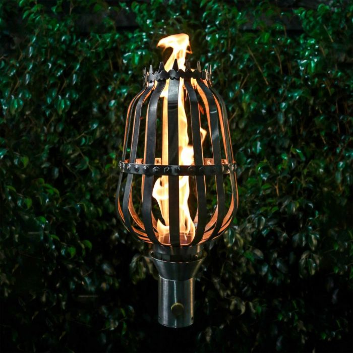 Top Fires by The Outdoor Plus OPT-TCH11xSS Urn Top-Lite Torch