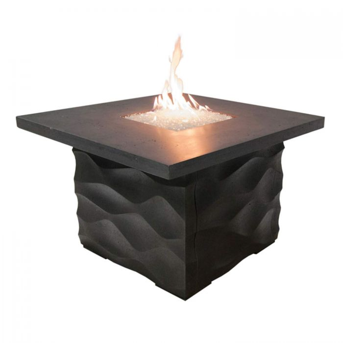 American Fyre Designs Voro Chat Height Fire Table