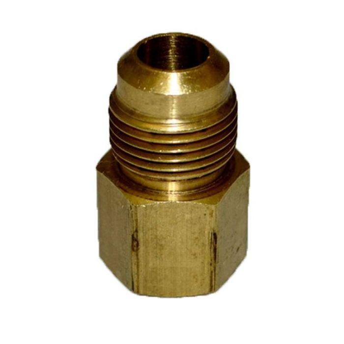 HPC Adaptor Brass Fitting, 1/2-Inch Tube, 1/2-Inch FIP