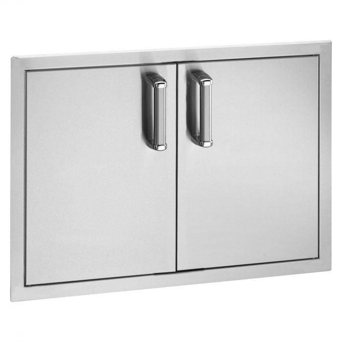 Fire Magic Premium Access Door with Tank Tray and Double Drawers, Flush Mounted