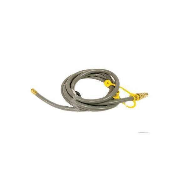 Hearth Products Controls Quick Disconnect Hose Assembly with Male Quick Disconnect Only