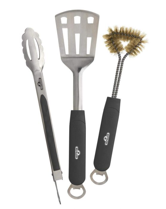Napoleon 70024 3-piece Stainless Steel BBQ Tool Set