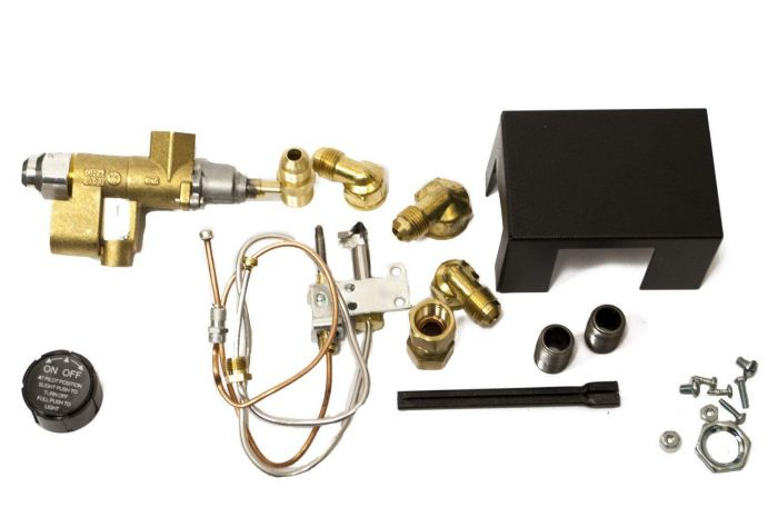 Copreci Rear Inlet Safety Pilot Kit with 1.5-inch Swivel Quick Connect, Natural Gas