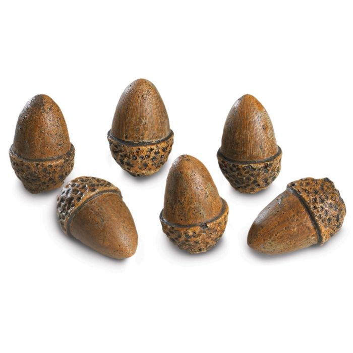 Real Fyre AC-6 Acorns, Set of Six