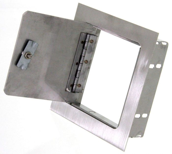 Hearth Products Controls Recessed Mount Stainless Steel Access Door, 6x6 Inch