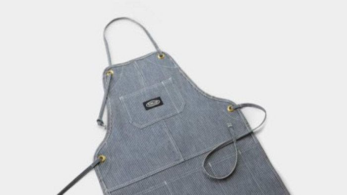 DCS AA-PAHS Grill Apron, Hickory Strip