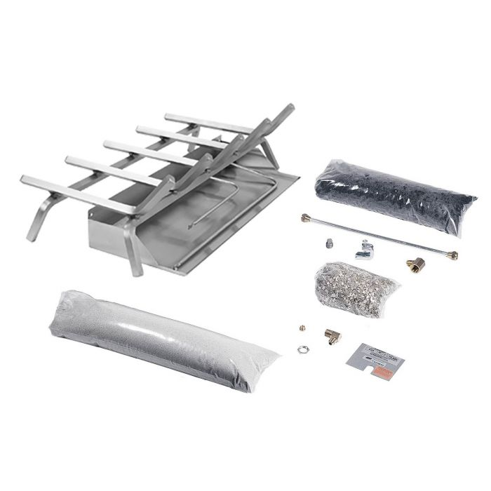 Rasmussen FX Flaming Ember XTRA Stainless Steel Burner and Grate Kit
