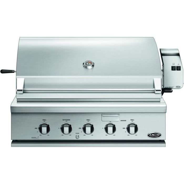 DCS Traditional 36-Inch Built-In Gas Grill with Rotisserie