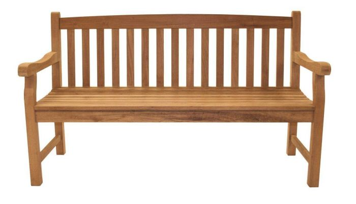 Royal Teak Collection CC3S Classic Three-Seater Bench