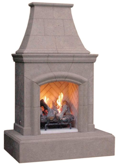 American Fyre Designs Chica Outdoor Gas Fireplace