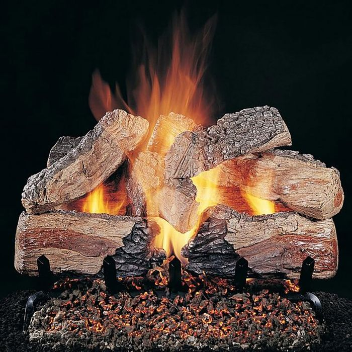 Rasmussen DF-ED-Kit Double Sided Evening Desire Series Complete Fireplace Log Set