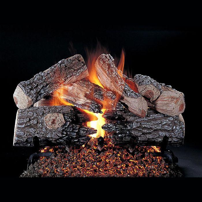 Rasmussen DF-EPR-Kit Double Sided Evening Prestige Series Complete Fireplace Log Set