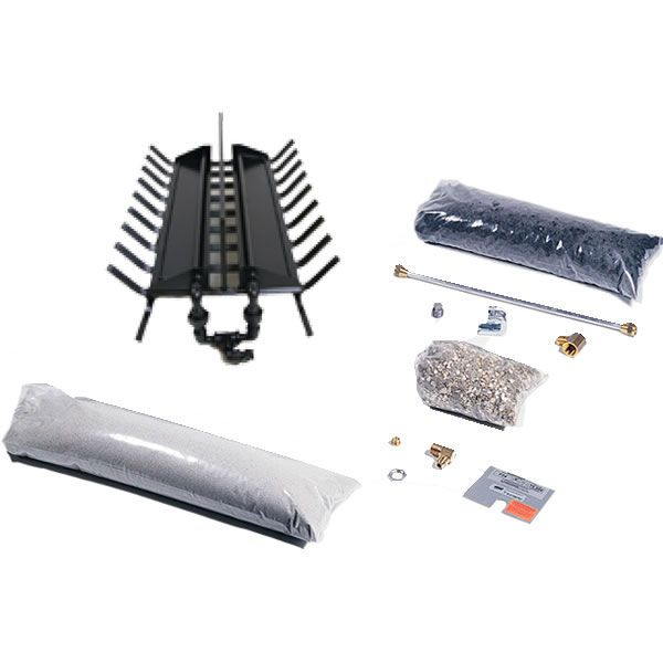 Rasmussen DF-LC Double Sided Multi-Burner and Grate Kit