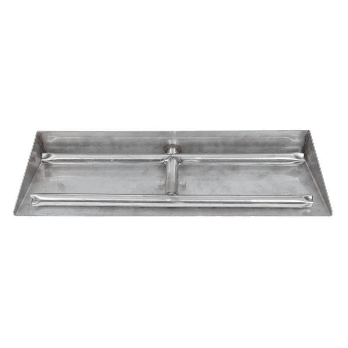 Dagan DG-EP22HBS Gas Ember Pan, Stainless Steel