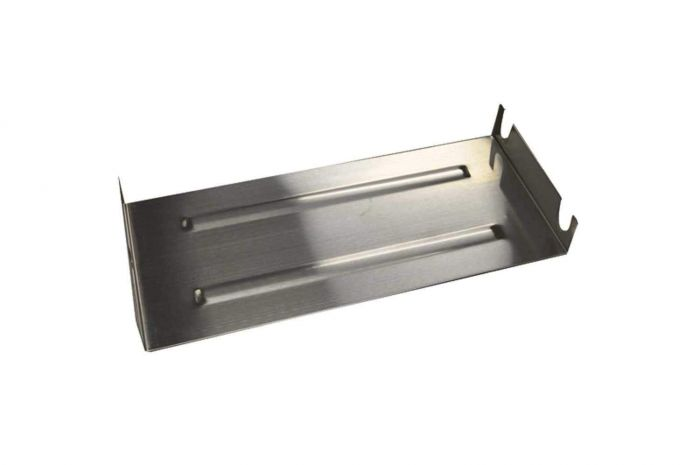 Hearth Products Controls Stainless Steel Fireplace Burner Pan, Rectangular