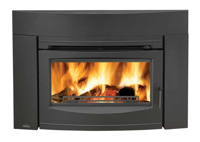 Napoleon EPI3C Oakdale Series Cast Iron Wood Insert, Contemporary, Black