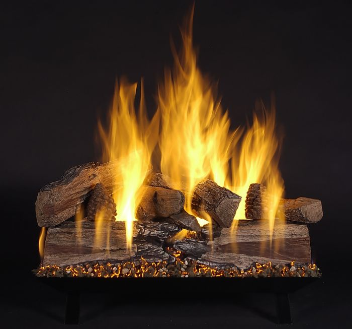 Rasmussen EXF-Kit Evening CrossFire Series Complete Fireplace Log Set
