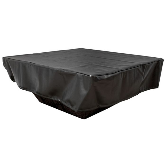 Hearth Products Controls Square Black Vinyl Fire Pit Cover, 60x60 Inch