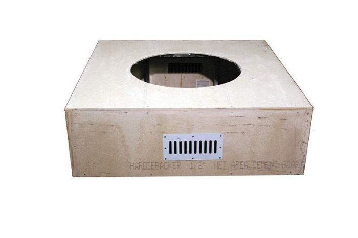 Hearth Products Controls Square 45 Inch Unfinished Fire Pit Enclosures