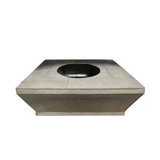 Hearth Products Controls Square 60 Inch Tapered Unfinished Fire Pit Enclosures