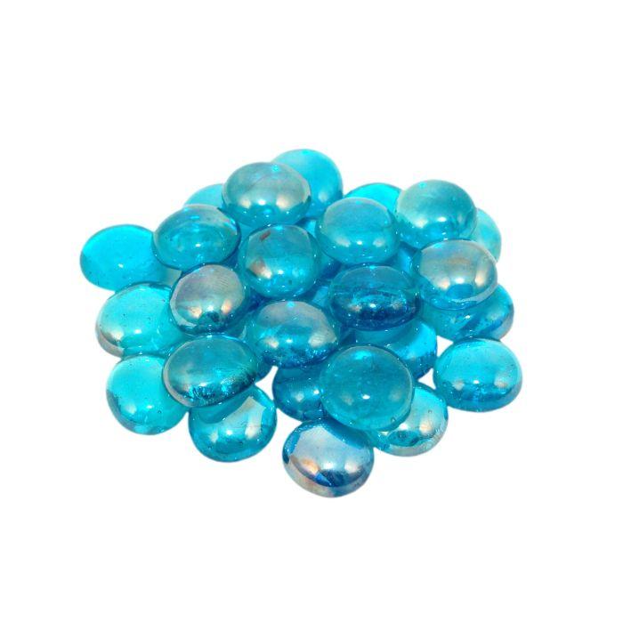 Real Fyre GLG-10-T Blue Topaz Fyre Gems, 10 Pounds
