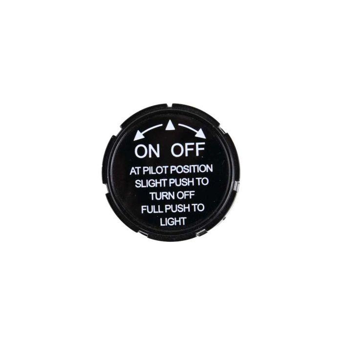 HPC Replacement Black Pilot Control Knob