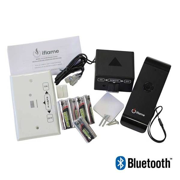 iFlame IF-20 Smart ON/OFF Fireplace Remote Control with Bluetooth Capability