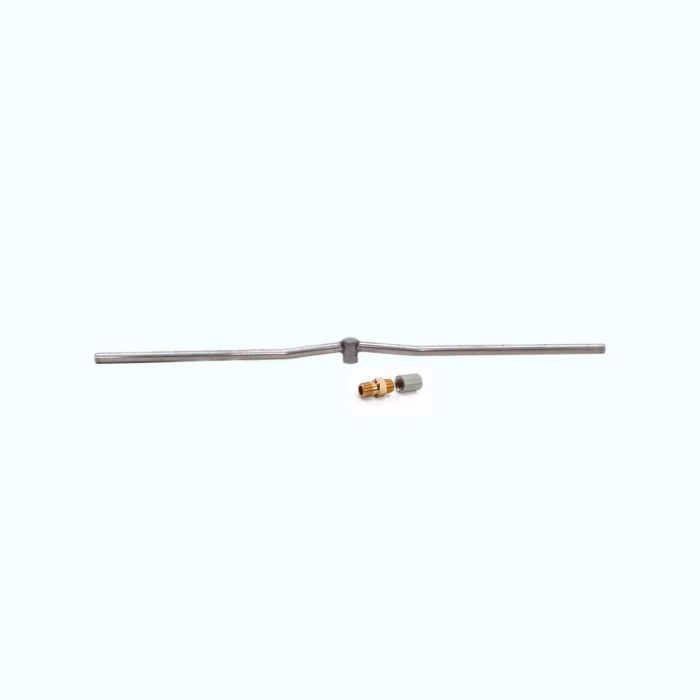 Hearth Products Controls Linear Stainless Steel Fire Pit Interlink Burner, 36-Inch, Propane