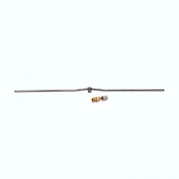 Hearth Products Controls Linear Stainless Steel Fire Pit Interlink Burner, 48-Inch, Propane