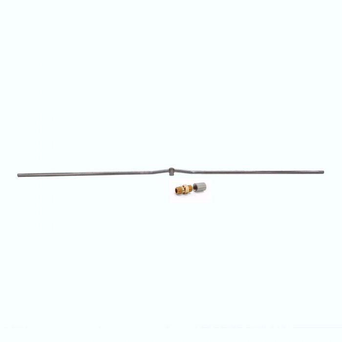 Hearth Products Controls Linear Stainless Steel Fire Pit Interlink Burner, 72-Inch, Propane