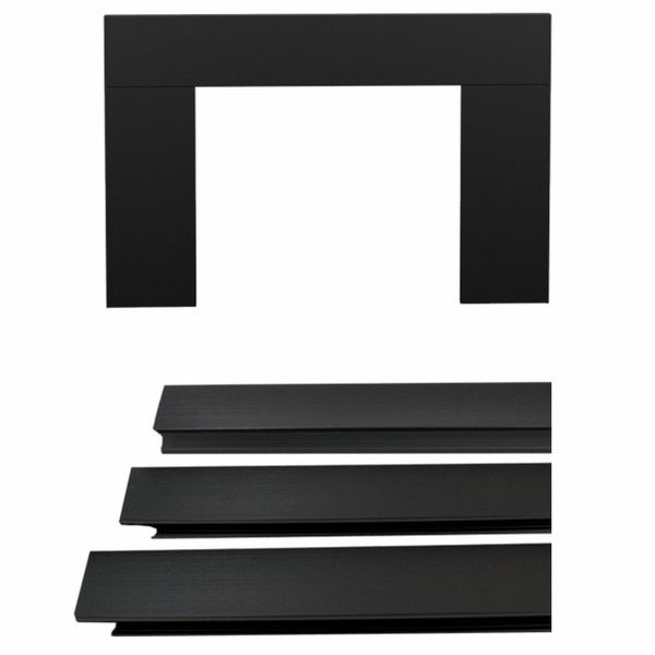 Osburn OA10128 Black Large Faceplate Trim Kit (32 X 50) for Osburn 1600, 2000, 2200 and 2400 Wood Inserts
