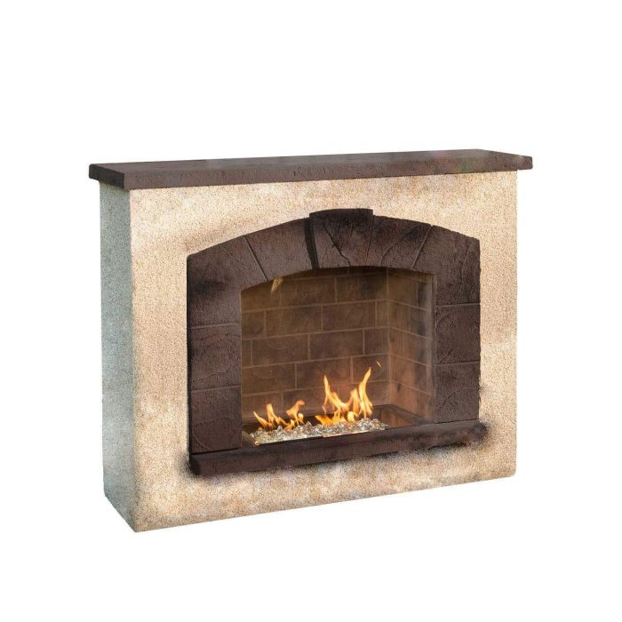 The Outdoor GreatRoom Company SAFP-1224 Stone Arch Outdoor Gas Fireplace